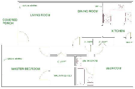 800 sq. ft. floor plan
