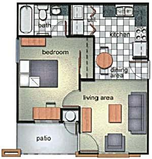 508 sq. ft. floor plan