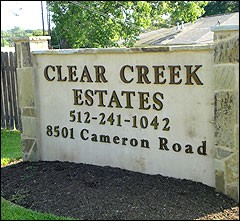 Clear Creek Estates ApartmentsAustinTX