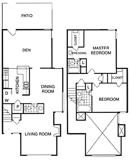 1,579 sq. ft. GT floor plan