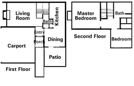 1,160 sq. ft. to 1,260 sq. ft. 2X1.5 floor plan