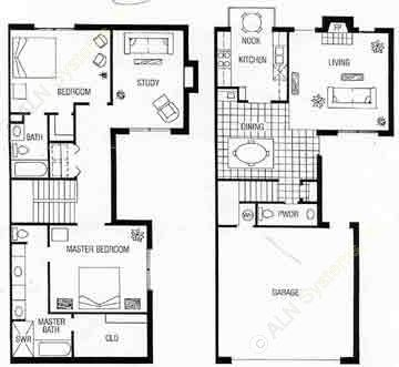 1,586 sq. ft. A floor plan
