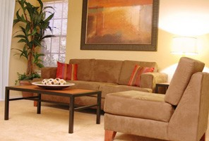 Model Living Area at Listing #136054