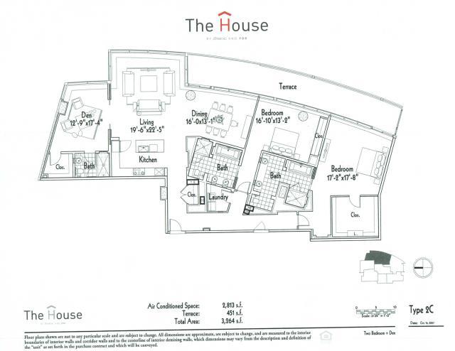 2,813 sq. ft. 2C floor plan