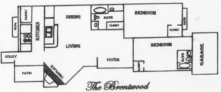 1,145 sq. ft. B5 floor plan