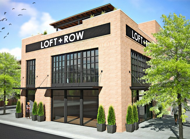 Loft Row Dallas TX 75204