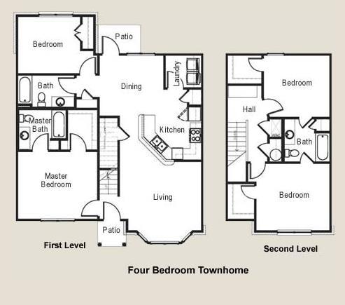 1,581 sq. ft. 60 floor plan