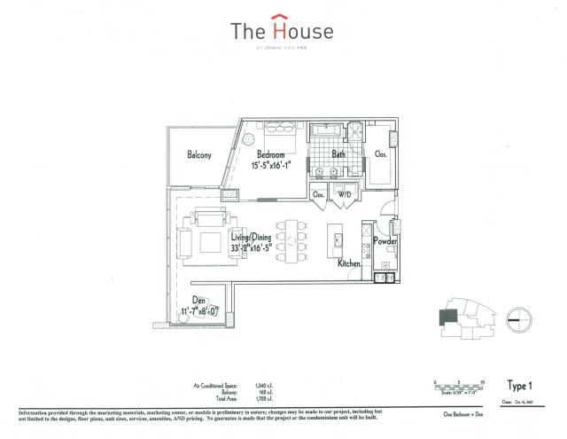 1,540 sq. ft. 1 floor plan