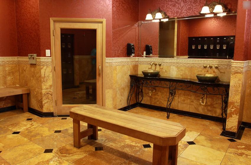 Sauna at Listing #144178
