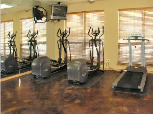 Fitness Center at Listing #144047