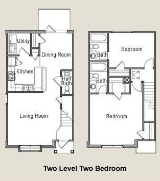 1,181 sq. ft. 50% floor plan