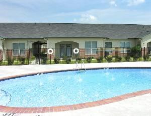 Pool Area at Listing #144680