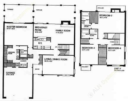 2,800 sq. ft. G floor plan