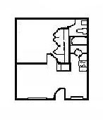 480 sq. ft. Outasight Pad floor plan