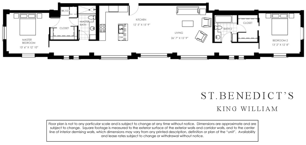 1,535 sq. ft. floor plan