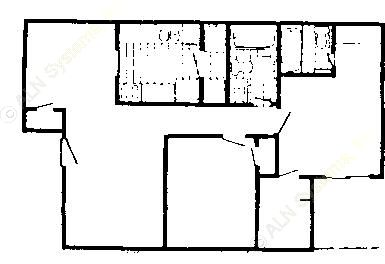 922 sq. ft. 60% floor plan