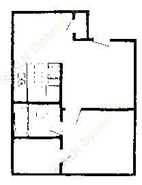 520 sq. ft. 60% floor plan