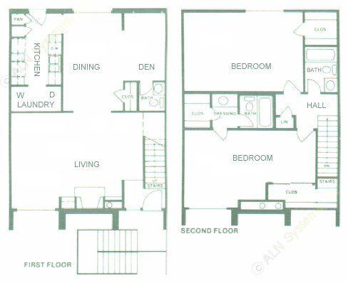 1,568 sq. ft. floor plan