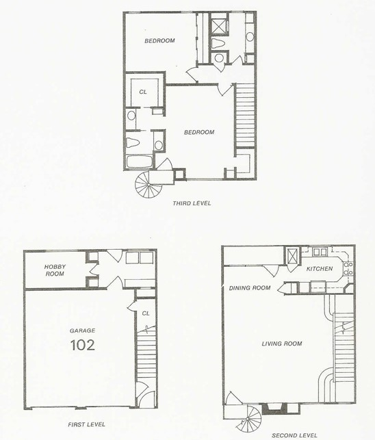 1,909 sq. ft. 107 floor plan