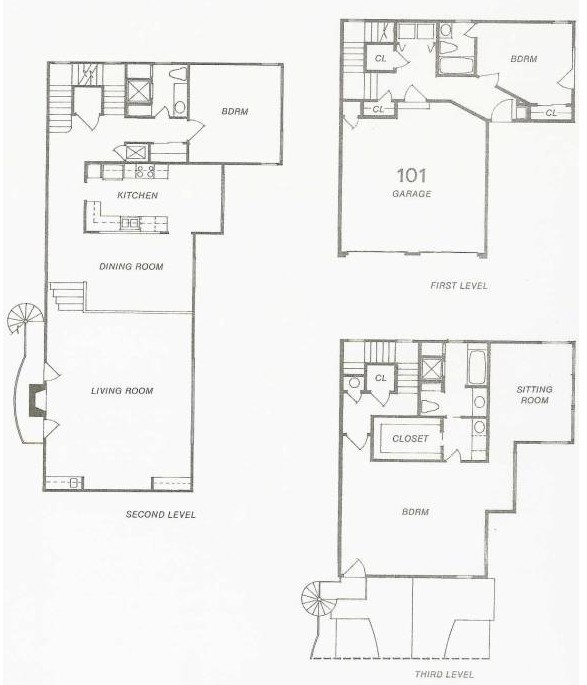 1,148 sq. ft. 111 floor plan