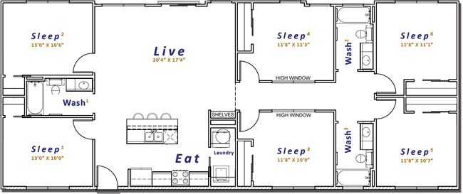 1,750 sq. ft. floor plan