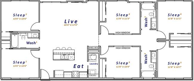 1,750 sq. ft. floor plan
