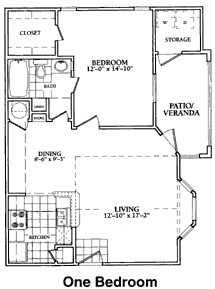 798 sq. ft. to 810 sq. ft. A floor plan