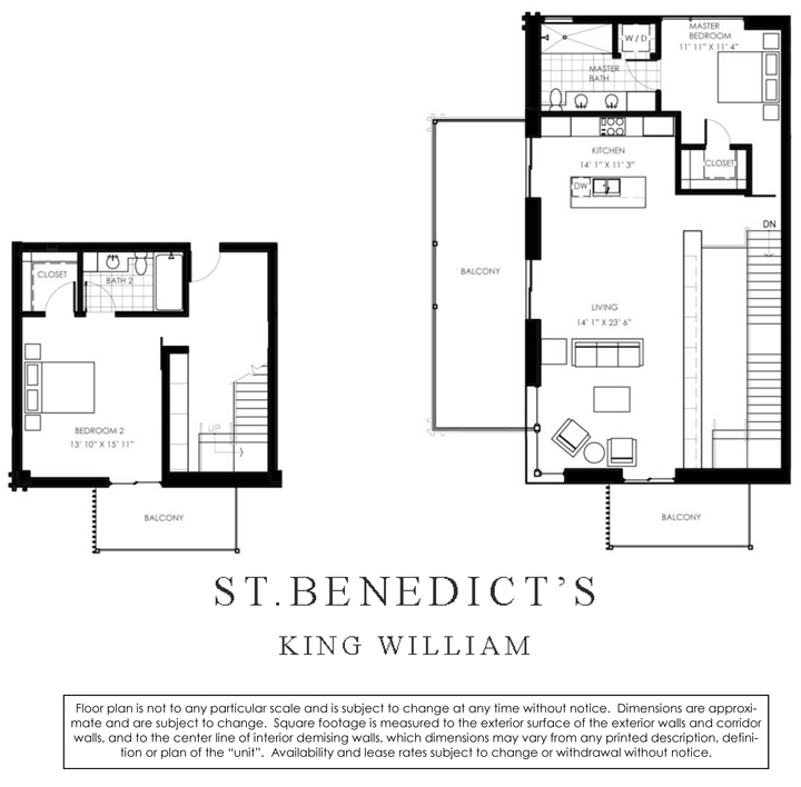 1,790 sq. ft. B5 floor plan