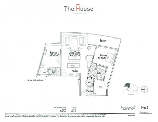 1,757 sq. ft. 2 floor plan