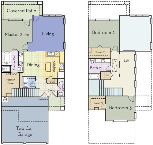 1,869 sq. ft. C2.5AT floor plan