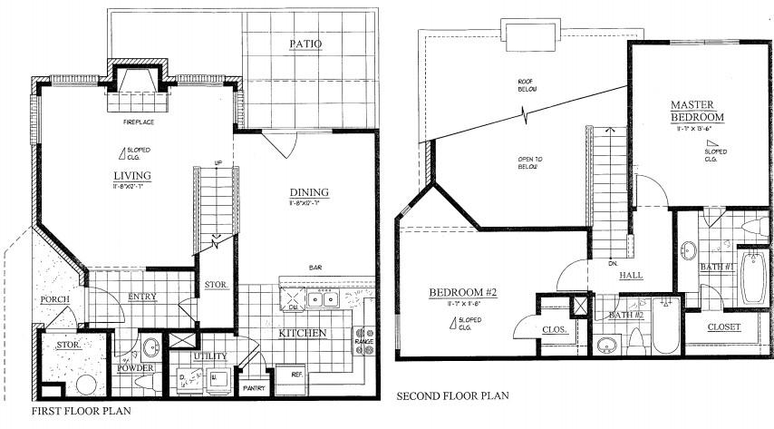 1,272 sq. ft. floor plan