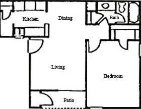 676 sq. ft. floor plan