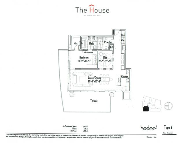 1,347 sq. ft. 8 floor plan