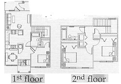 1,180 sq. ft. 60% floor plan