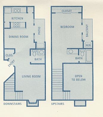 809 sq. ft. A11 floor plan
