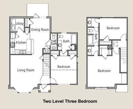1,499 sq. ft. 50% floor plan