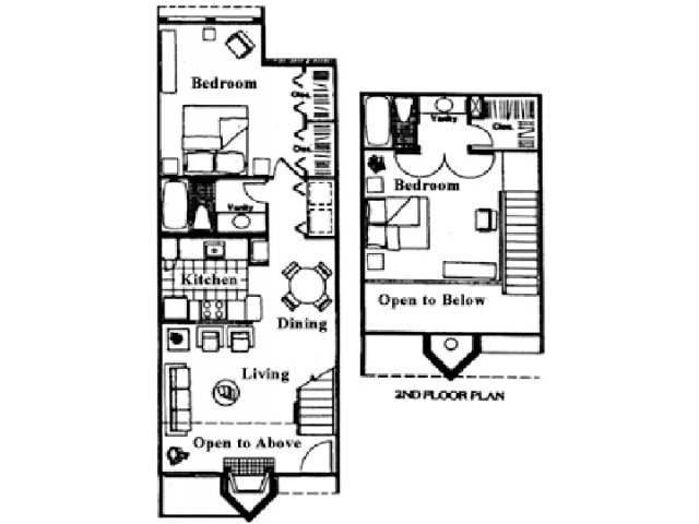 1,015 sq. ft. G floor plan