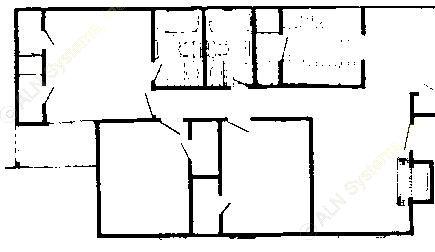 1,079 sq. ft. 60% floor plan