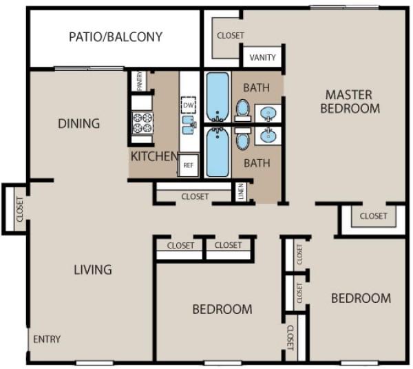 1,514 sq. ft. floor plan