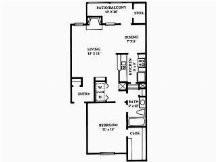 759 sq. ft. floor plan
