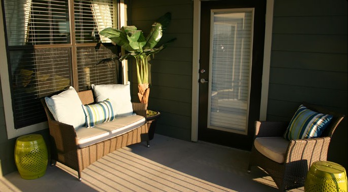 Patio at Listing #151574