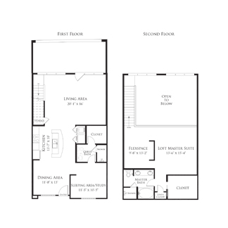 1,493 sq. ft. 2AS4.1 floor plan